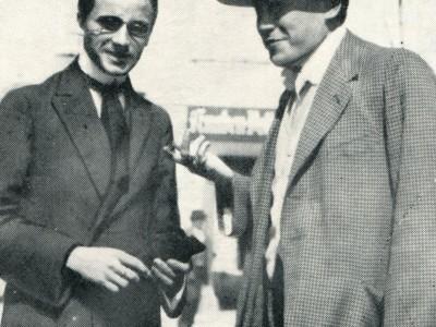 Pio Riego Gambini e Tino Gavardo