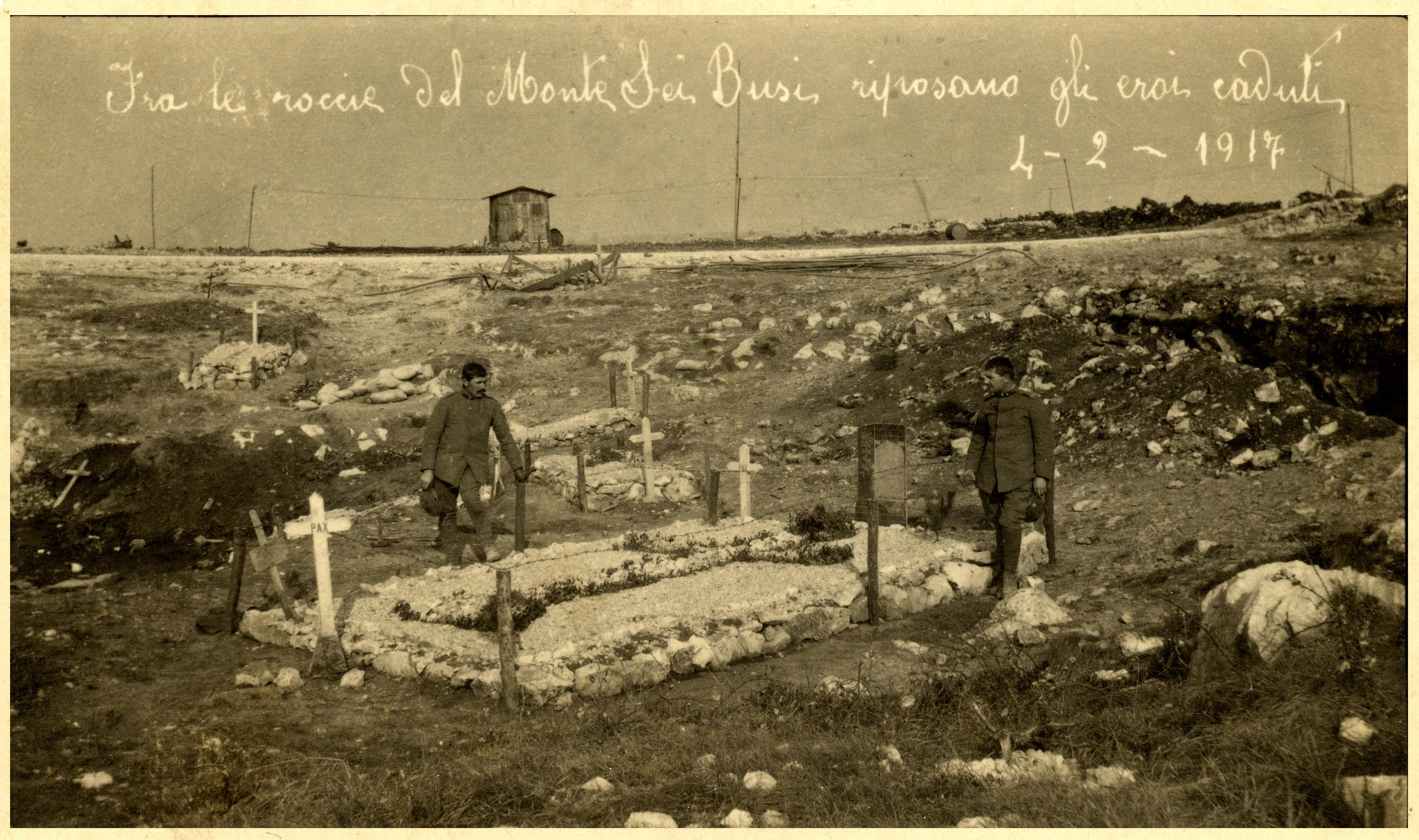Monte Sei Busi - cimiterino sul Sei Busi - (ASDM)
