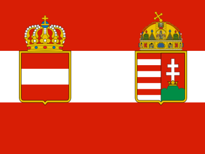War flag of Austria-Hungary (1918)