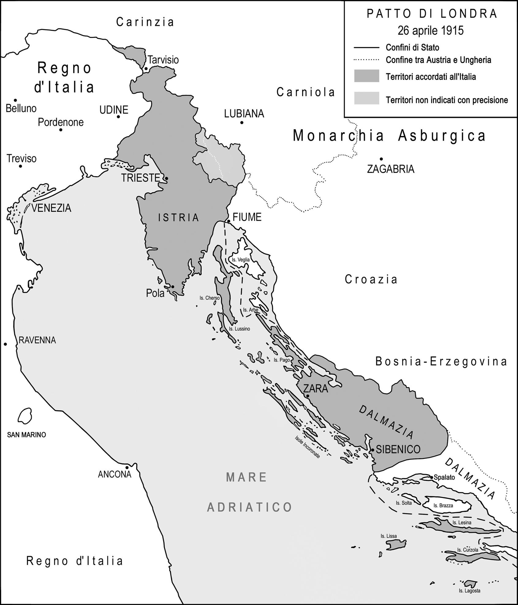 Cartina D Italia 1915.Terre Irredente Atlante Della Grande Guerra A Nord Est